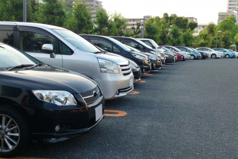 サンエー自動車工業レンタカー風景